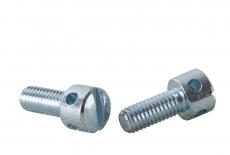 DIN 404 5,8 цинк Винт с цилиндрической головкой и отверстиями