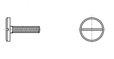 https://dinmark.com.ua/images/DIN 921 Винт с увеличенной цилиндрической головкой и прямым шлицем