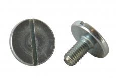 DIN 921 A1 Гвинт зі збільшеною циліндричною головкою і прямим шліцом