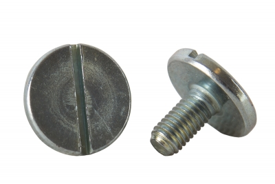 DIN 921 A1 Винт с увеличенной цилиндрической головкой и прямым шлицем