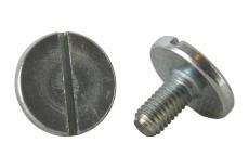 DIN 921 5,8 цинк Винт с увеличенной цилиндрической головкой и прямым шлицем