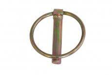 AN 77 цинк желтый Шплинт с кольцом пружинный