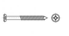 https://dinmark.com.ua/images/ART 9092 Шуруп з потайною головкою з хрестоподібним шліцом