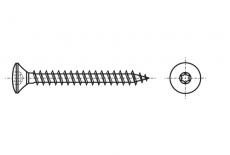 ART 9046 Шуруп з напівпотайною головкою під torx - Інтернет-магазин Dinmark