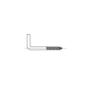 ART 8707 A2 Крюк-шуруп, форма L