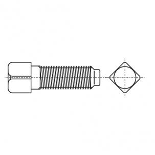 DIN 479 8.8 Болт с квадратной головкой