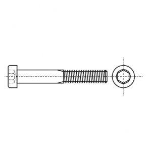 DIN 912 8,8 цинк Болт с цилиндрической головкой и нейлоновым покрытием DIN 267-28 KLF - Dinmark