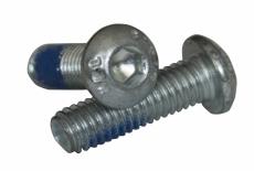 ISO 7380-1 10,9 цинк Болт с полукруглой головкой и нейлоновым покрытием DIN 267-28 KLF
