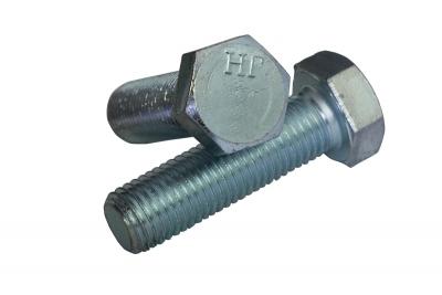 DIN 933 10,9 цинк Болт з шестигранною головкою і повною різьбою