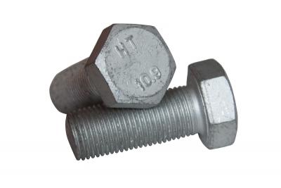 DIN 933 10,9 цинк платковый Болт с шестигранной головкой и полной резьбой
