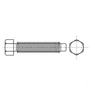 DIN 561-B 8,8 цинк Болт з шестигранною головкою і цапфою