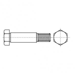 DIN 609 8,8 Болт призонний з шестигранною головкою
