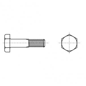 DIN 6914 / EN 14399-4 10,9 цинк горячий Болт высокопрочный с шестигранной головкой