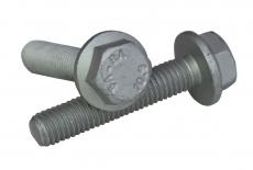 DIN 6921 10,9 цинк платковий Болт з шестигранною головкою і фланцем