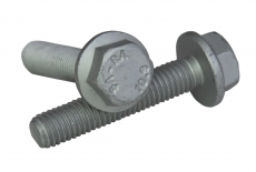DIN 6921 10,9 цинк платков Болт с шестигранной головкой и фланцем, мелкий шаг резьбы