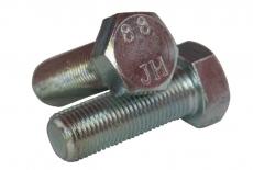 DIN 961 8,8 цинк Болт с шестигранной головкой и полной резьбой, мелкий шаг резьбы