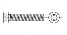 https://dinmark.com.ua/images/ISO 14580 Болт с цилиндрической уменьшенной головкой под torx
