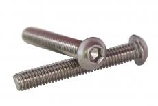 Болт ISO 7380-1 M2,5x8 A4