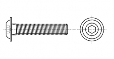https://dinmark.com.ua/images/ISO 7380-2 Болт з напівкруглою головкою і внутрішнім шестигранником з фланцем