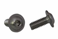 ISO 7380-2 A2 Болт з напівкруглою головкою і внутрішнім шестигранником з фланцем