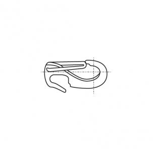 ART 8153 A4 Карабин с открытым кольцом