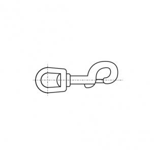 ART 8303 A4 Карабін для строп з вертлюгом
