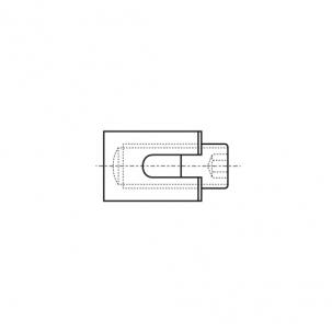 ART 8424 A4 Зажим для троса крестовый
