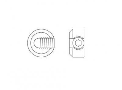 ART 8427 A4 Зажим для троса - Dinmark