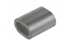 DIN 3093 алюміній Зажим для тросу