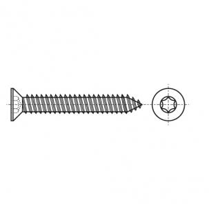 ISO 14586-C A4 Саморез с потайной головкой под torx