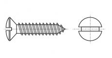 https://dinmark.com.ua/images/DIN 7973 Саморіз з напівпотайною головкою і прямим шліцом