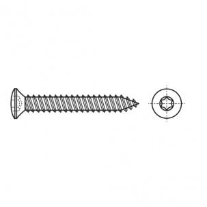 ISO 14587 A2 Саморез с полупотайной головкой под torx