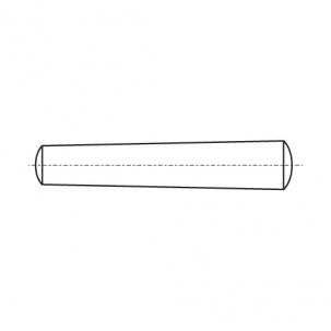 DIN 1 Штифт конусный без покрытия