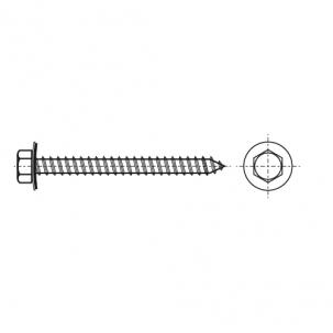 ART 9098 A A2 Саморіз з шестигранною головкою і шайбою EPDM 22мм