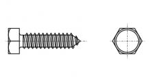 https://dinmark.com.ua/images/DIN 7976 Саморез с шестигранной головкой