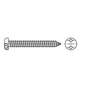 ART 9100 A2 Саморіз антивандальний з напівкруглою головкою