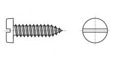 https://dinmark.com.ua/images/DIN 7971-C Саморіз з напівкруглою головкою і прямим шліцом