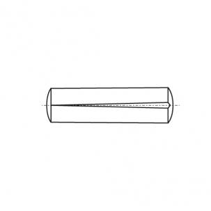 DIN 1471 A1 Штифт конусный с насечкой
