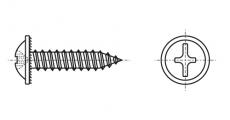https://dinmark.com.ua/images/DIN 968 Саморіз з напівкруглою головкою і прес-шайбою
