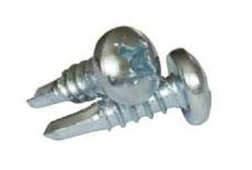 DIN 7504 M(N) цинк Саморез с полукруглой головкой и буром PH