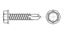 https://dinmark.com.ua/images/ISO 15480 K Саморіз з шестигранною головкою