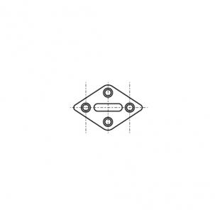 ART 8264 A2 Обушок на ромбовій основі