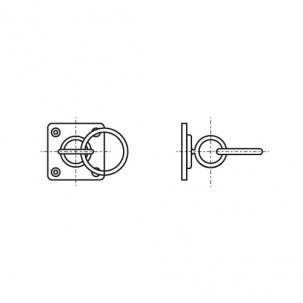 ART 8397 A2 Обушок з кільцем