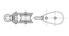 https://dinmark.com.ua/images/ART 8369 Блок такелажный с вертлюгом
