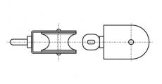 https://dinmark.com.ua/images/ART 8392 Такелажний блок з вертлюгом