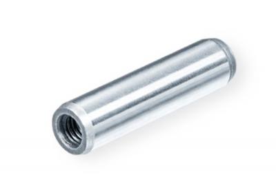DIN 7979 сталь Штіфт циліндричний з внутрішньою різьбою