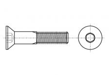 DIN 7991 10,9 цинк Болт с потайной головкой под torx