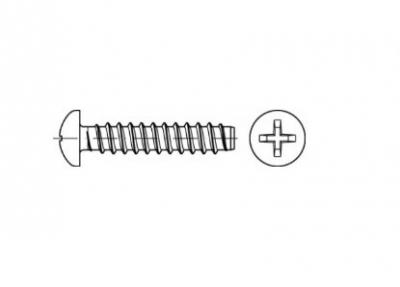 DIN 7981-F цинк Саморіз з напівкруглою головкою PH