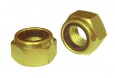 DIN 985 8 цинк жовтий Гайка самоконтряща