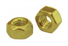 DIN 980 8 цинк жовтий Гайка самоконтряща